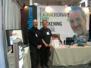 Chris & Dale at the Toronto Anti-Aging Show