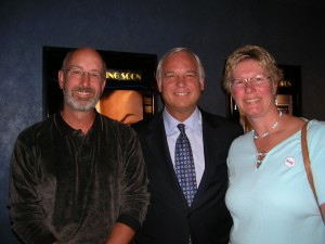 "Chris & Dale with Jack Canfield, author of the ""Chicken Soup for the Soul"" book series"
