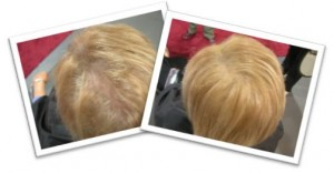 Short Blonde Hair Before & After