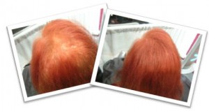Long Red Hair Before & After