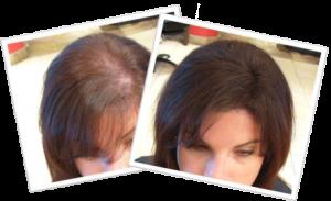 Long Dark Hair Before & After